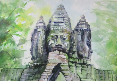 Forest Buddha, study#2
