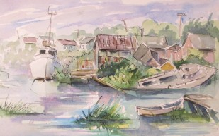Finn Slough Sketch