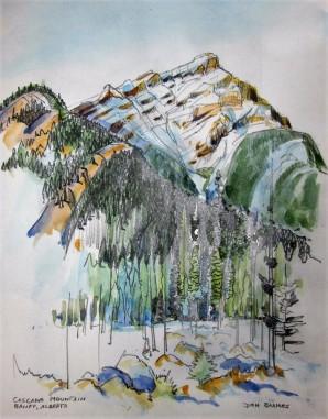Cascade Mountain, Banff, Canada