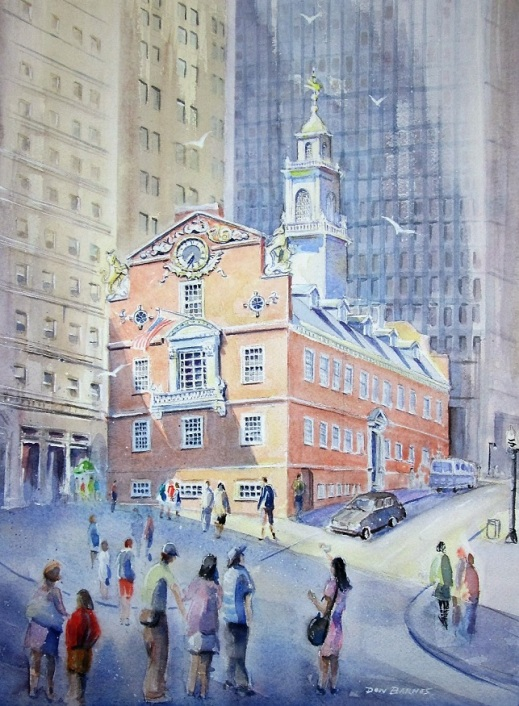 Built in 1713, The Old State House is one of the oldest public buildings in the United States.