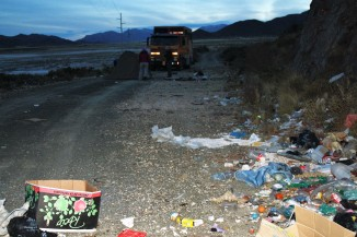 A bad night of camping in Bolivia