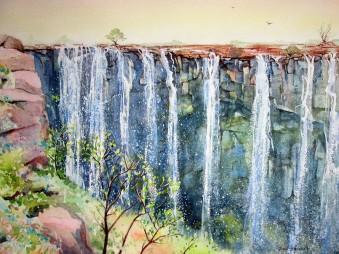 Rainbow Falls, Zimbabwe