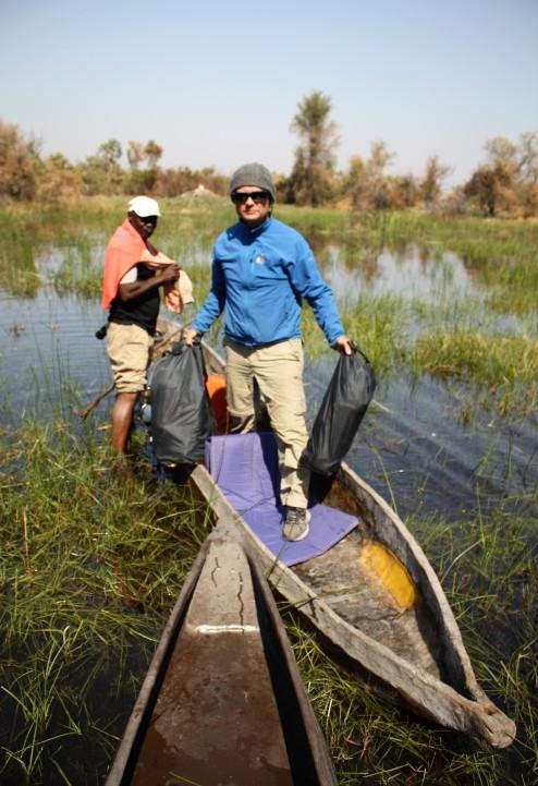 Arriving At Camp, Okavango Delta