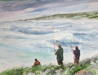 Fisherman at Cape Point