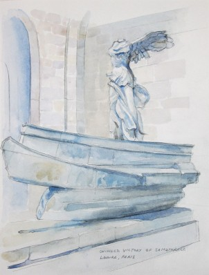 The Winged Victory of Samothrace, The Louvre, Paris