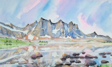 Amethyst Lake, Tonquin Valley, Jasper National Park (3)