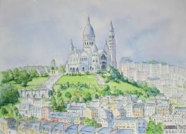 Sacre-Coeur, Paris, France